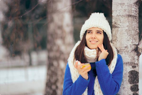 Protégez votre peau l'hiver !