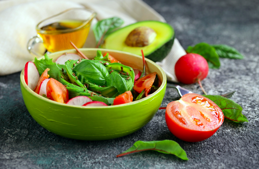 Pensez à manger varié et équilibré pour être en bonne santé !