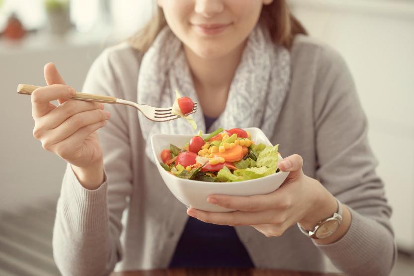L'alimentation équilibrée est indispensable pour limiter l'apparition de cellulite